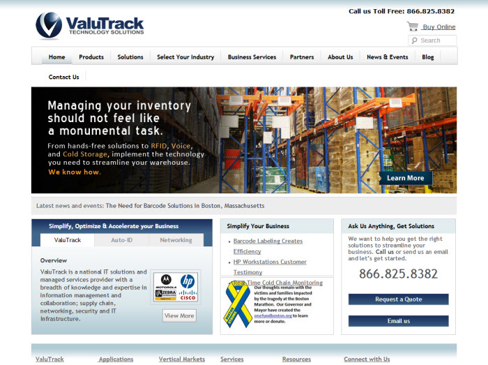 Valutrack title